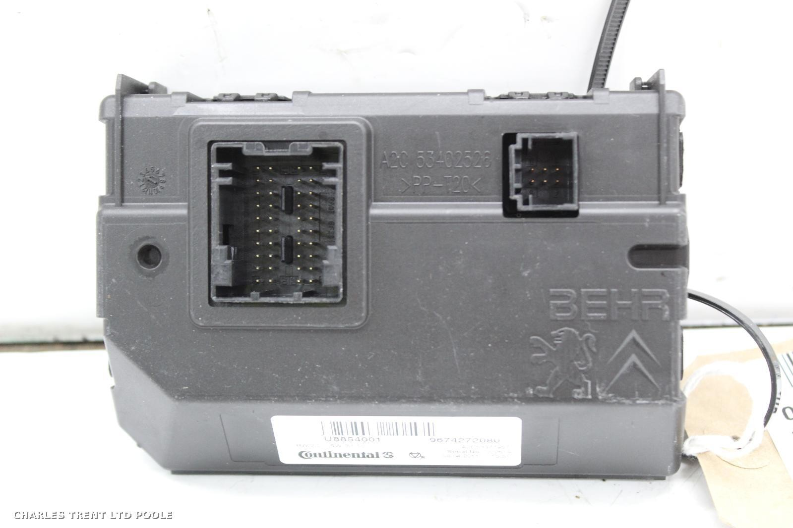 2012 - CITROEN - DS5 - ECUS