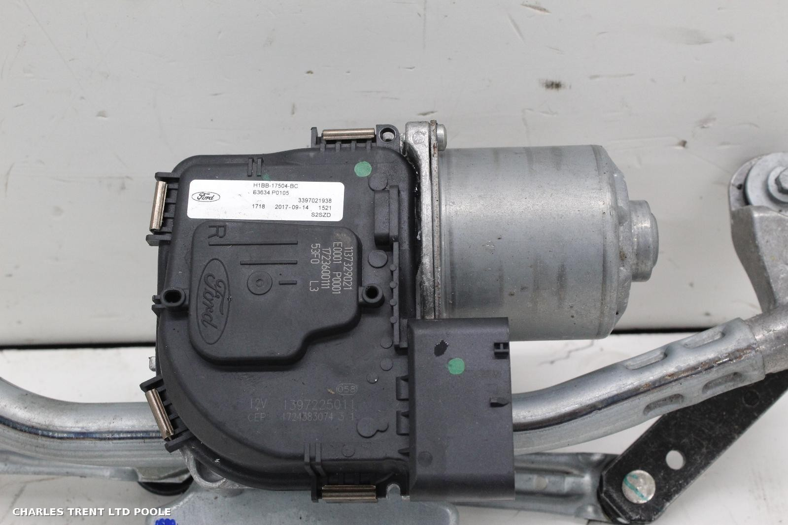 2017 - FORD - FIESTA - WIPER MOTORS (FRONT)