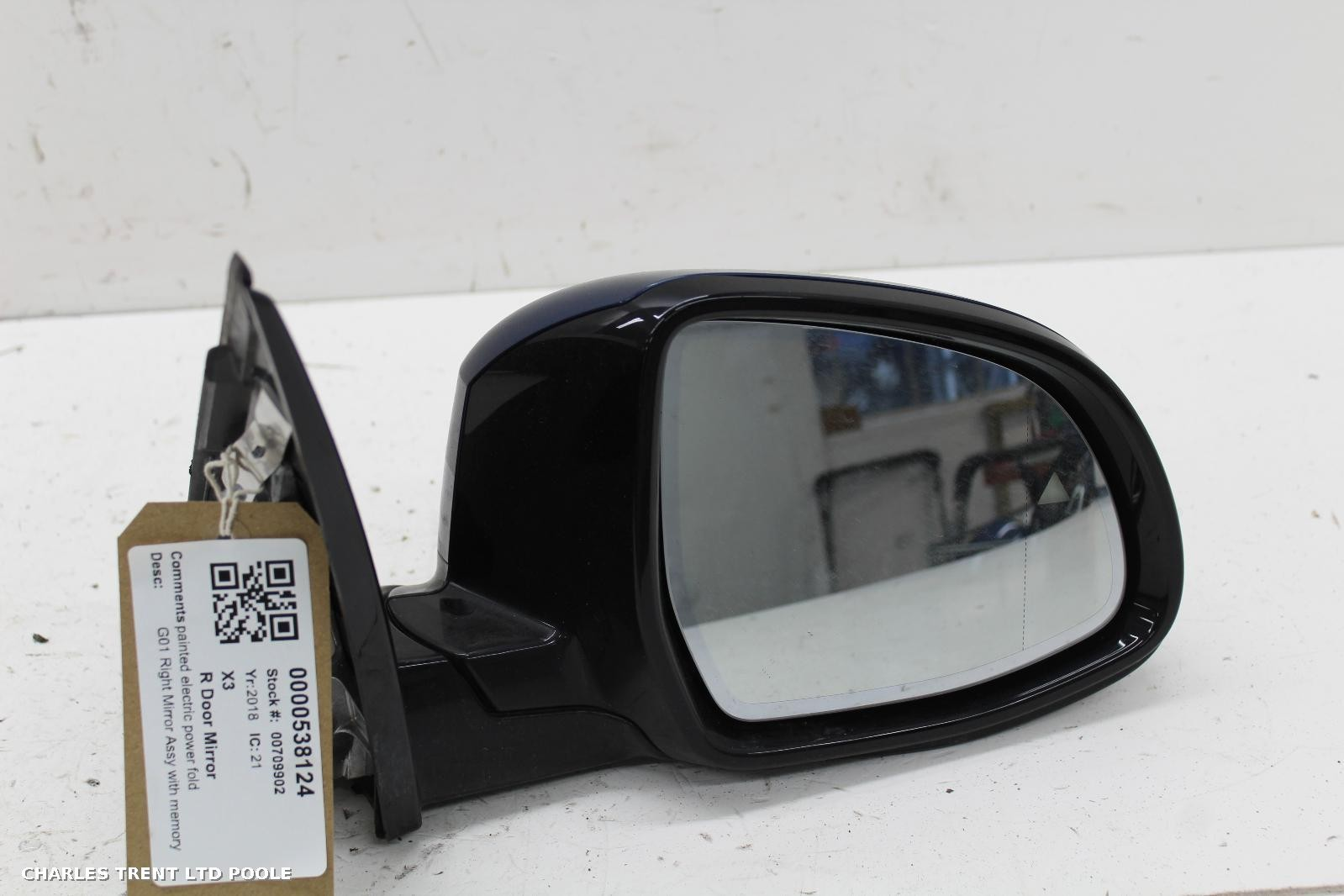 2018 - BMW - X3 - DOOR MIRRORS / WING MIRRORS (RIGHT / DRIVER SIDE)