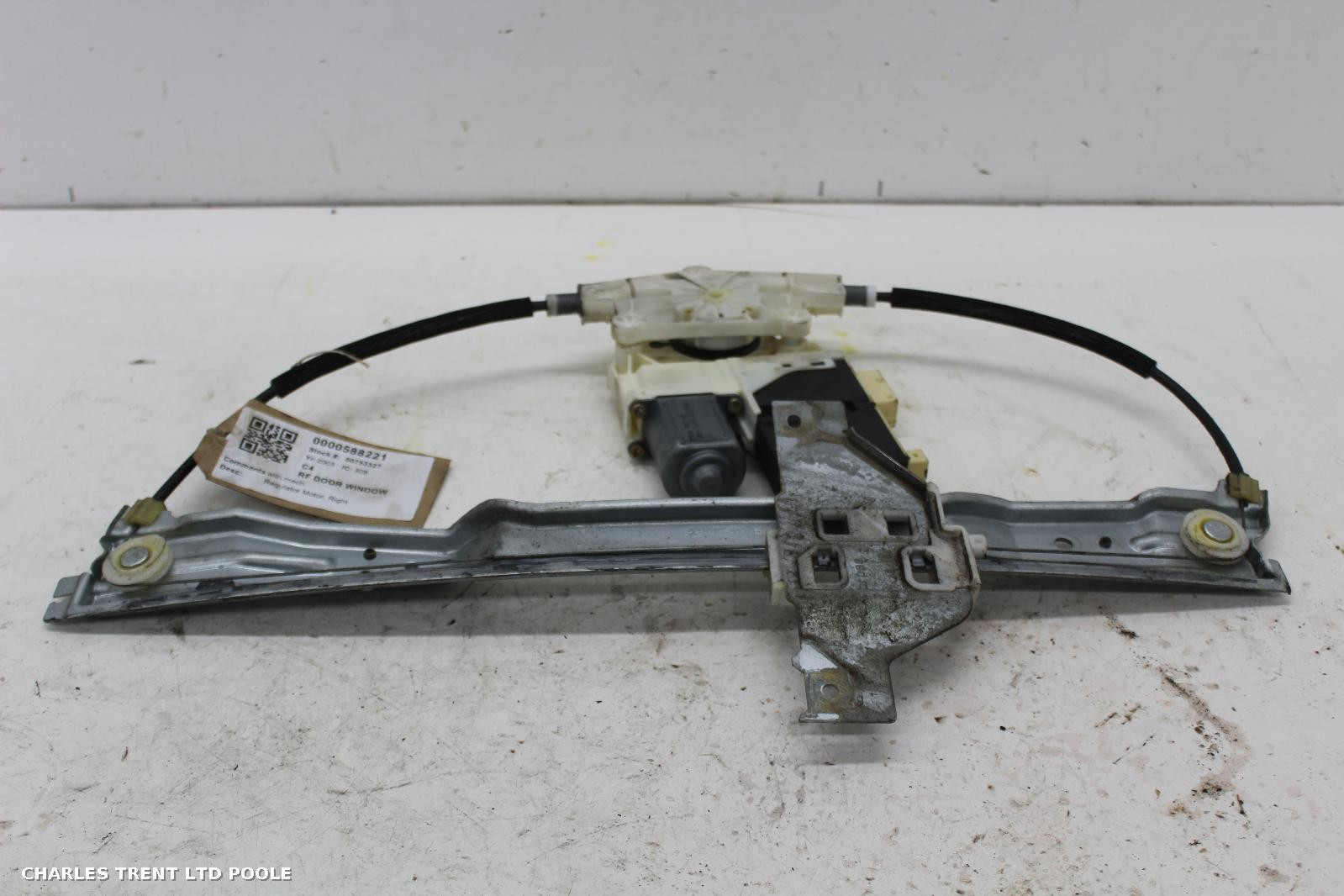 2005 - CITROEN - C4 - WINDOW MOTOR (FRONT - RIGHT / DRIVER SIDE)