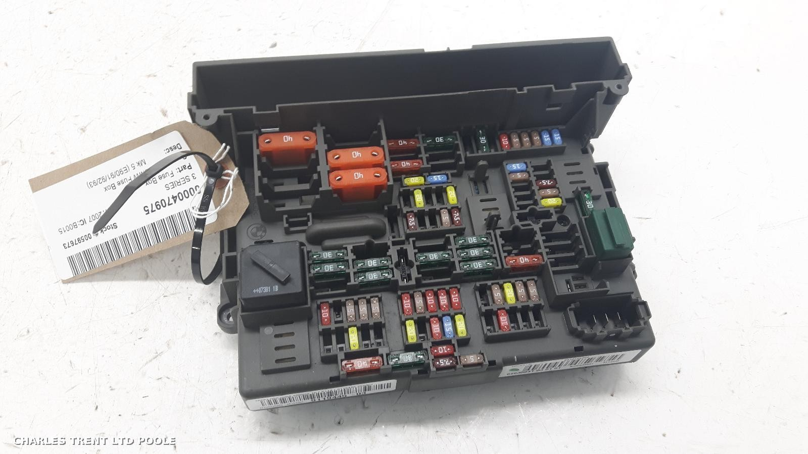Fuse Box 2007 - BMW - 3 SERIES