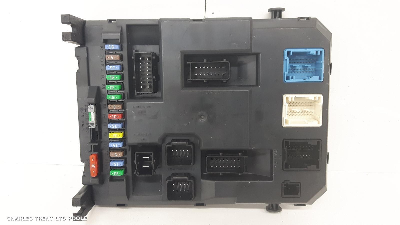 Fiat Stilo Fuse Box In Boot