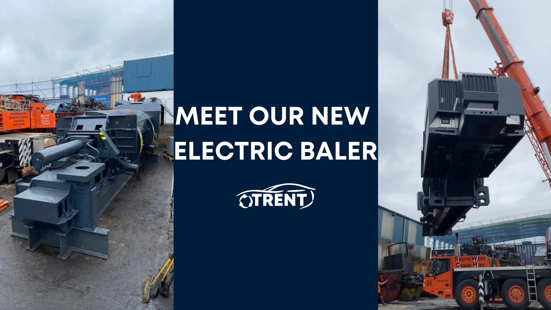 Meet our New Electric Baler