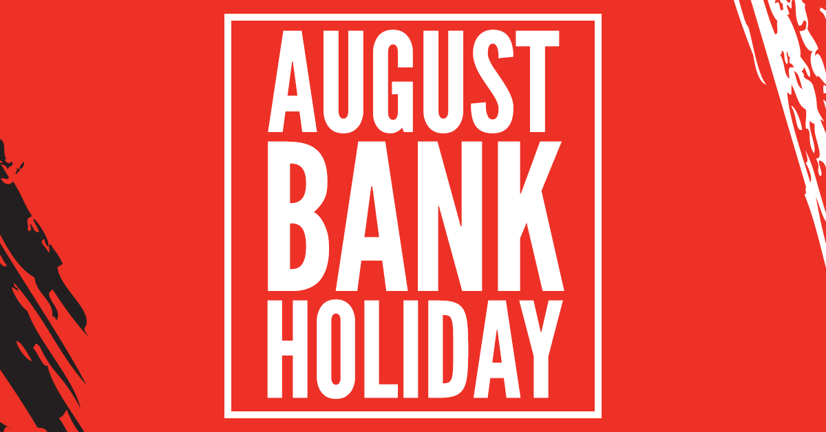 Poole Site: August Bank Holiday Closure