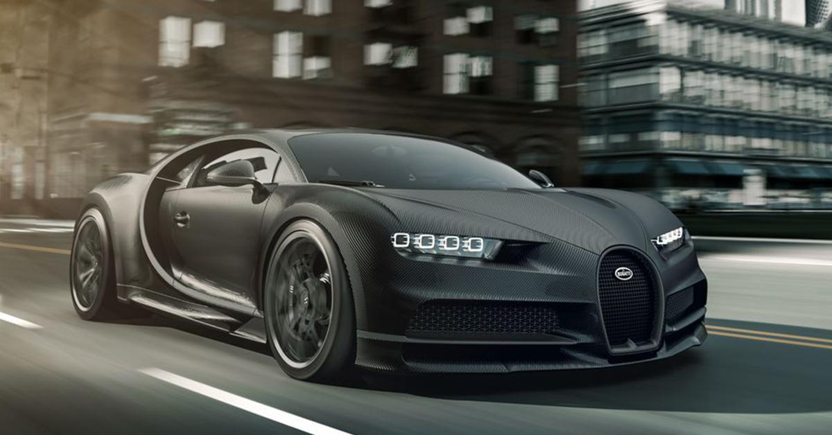 Revealed: The £2.6m Carbon-Clad Bugatti Chiron Noire