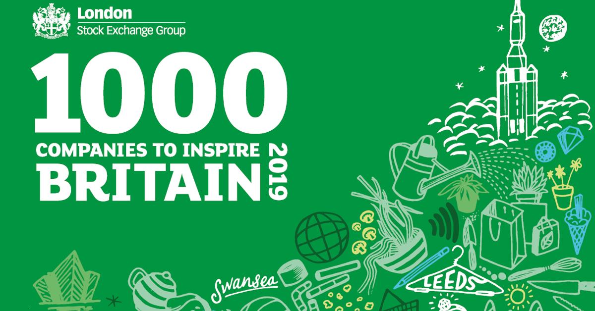 London Stock Exchange Recognises Charles Trent Amongst UK's Most Inspiring Businesses