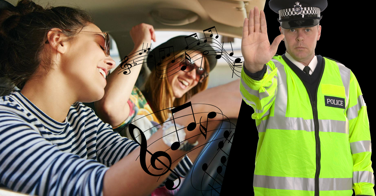 Drivers Can Be Fined £5000 For Singing Too Loudly In Their Car