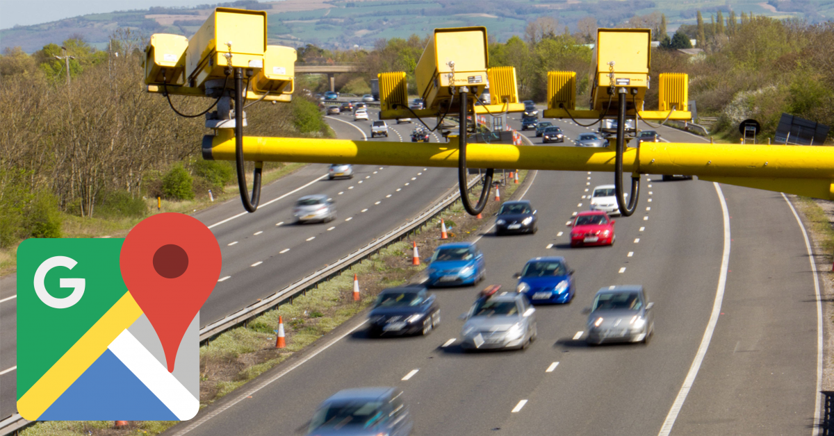 Google Maps Speed Camera Update Will Help You Avoid Getting A Ticket