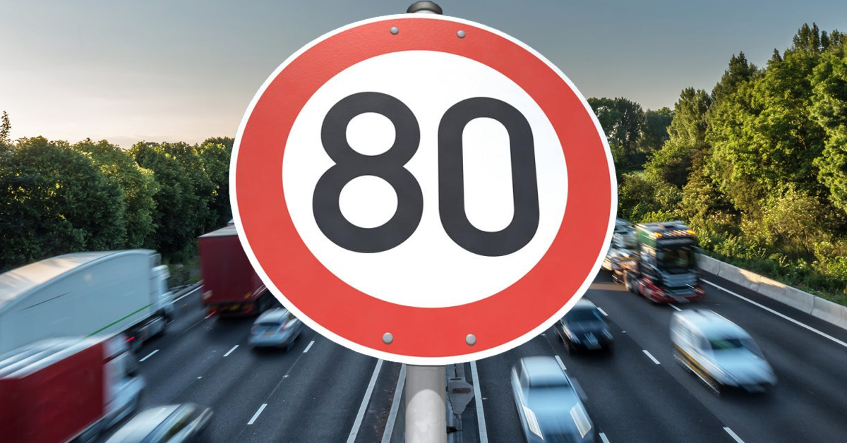 Is An 80mph Motorway Speed Limit On Its Way?