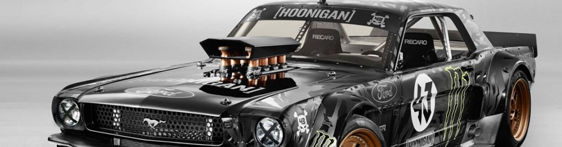 Ken Block's 845bhp Ford Mustang Beast Unveiled For Gymkhana 7