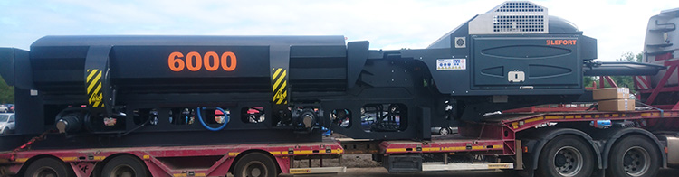 New Lefort Baler Arrives At Our Rugby Site