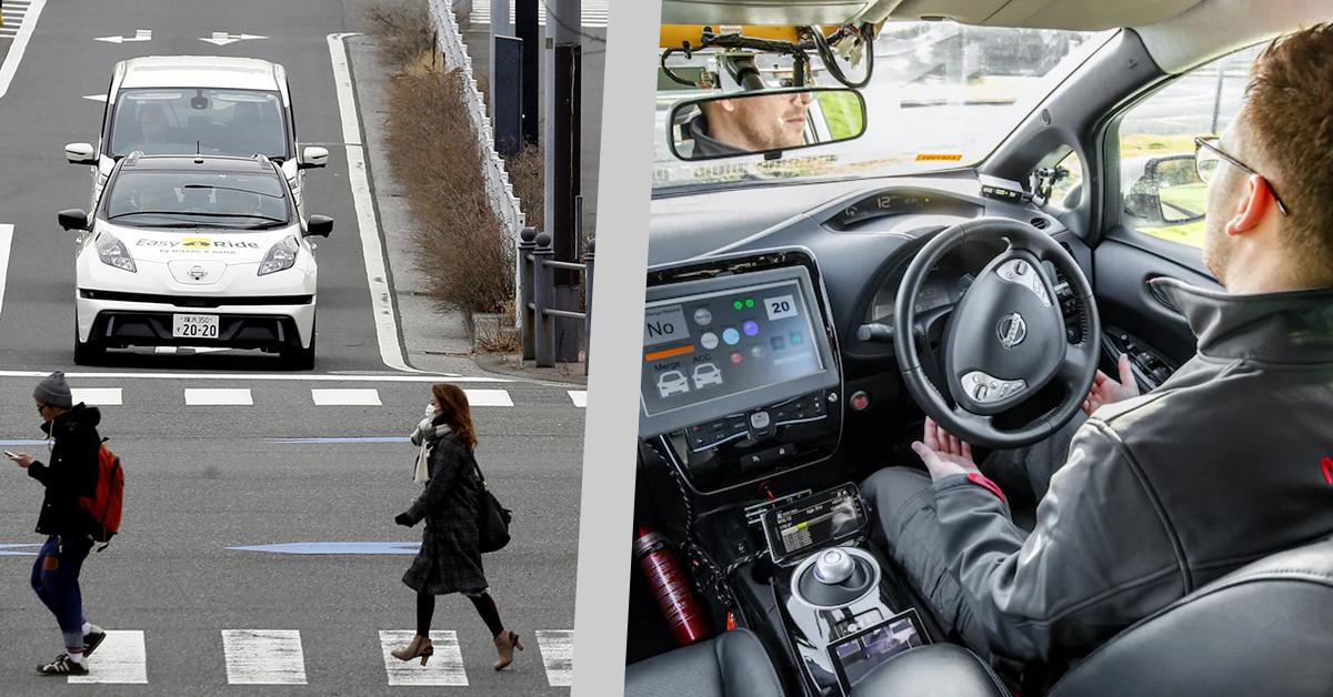 Nissan Leaf Breaks UK Record For Longest Self-Driving Car Trip