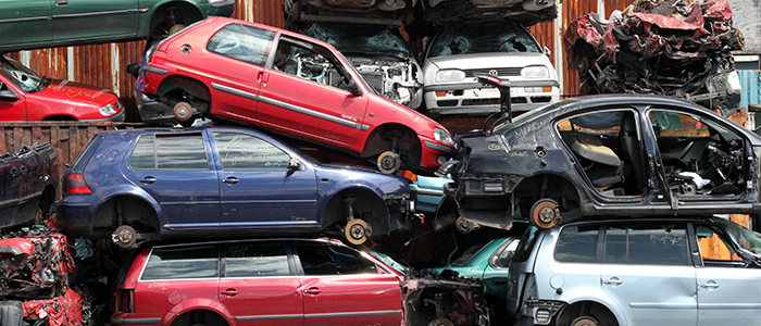 Falling Metal Prices Lead To 14% Drop In The Number Of Cars Scrapped