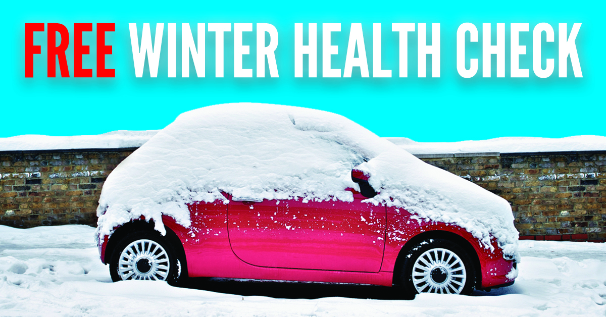 Get Your Free Winter Car Check At Our Poole Site