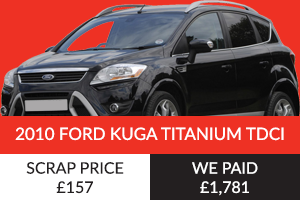 2010 Ford Kuga Titanium TDCI Better Than Scrap Price