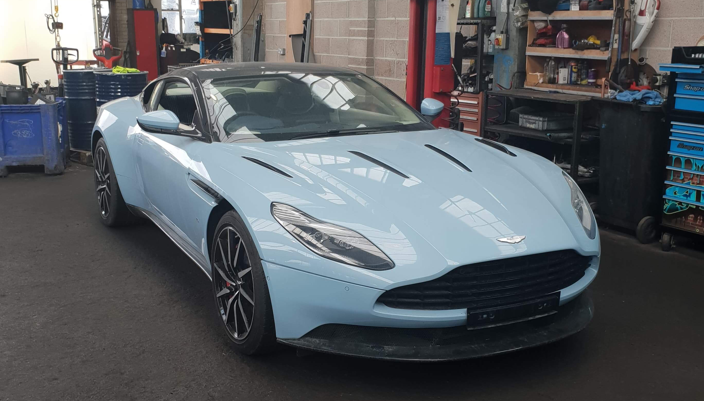 2017 Aston Martin Db11 Now Breaking For Spares Charles Trent Blog