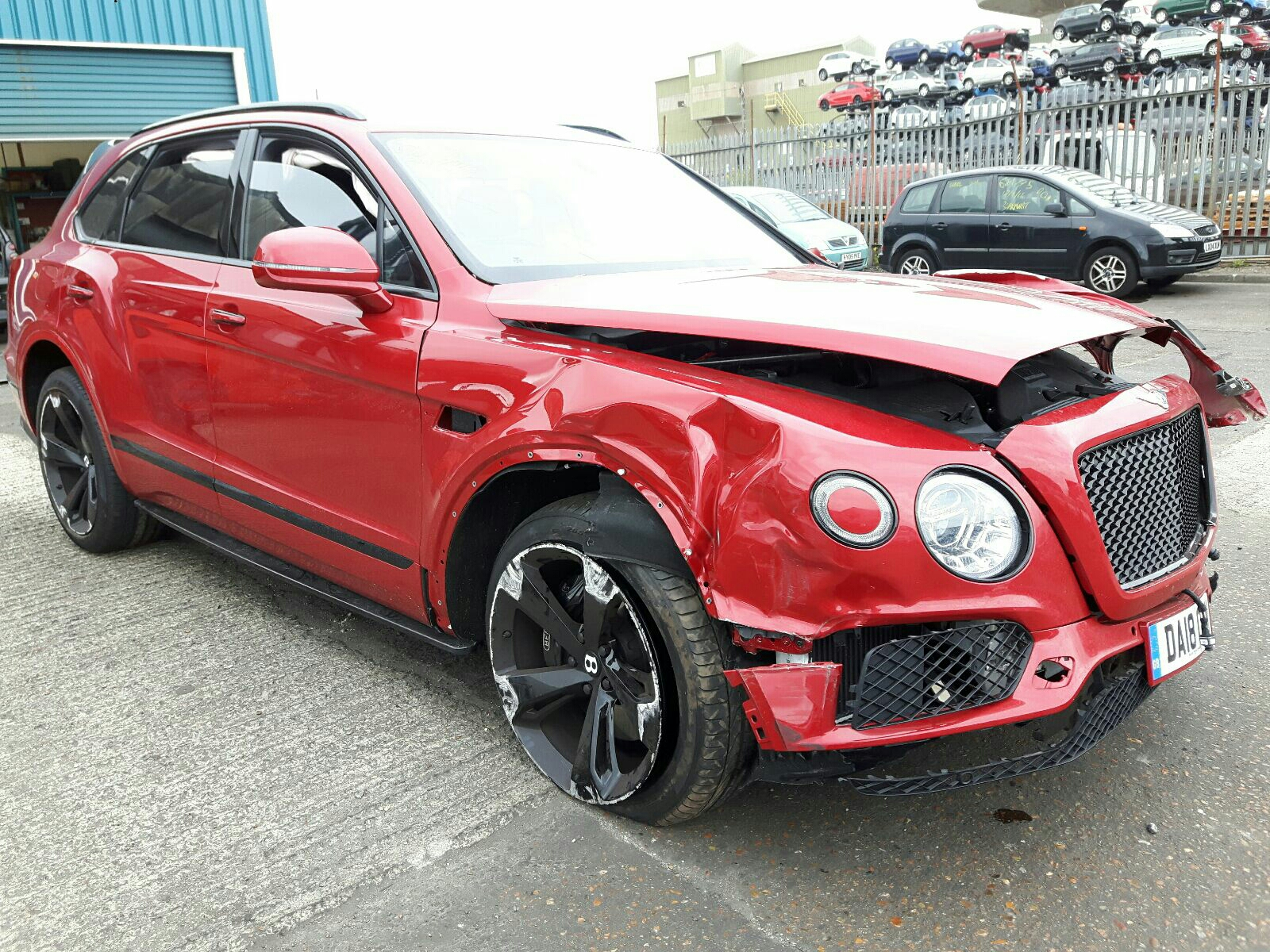 Bentley Bentayga W12 Auto - OSF
