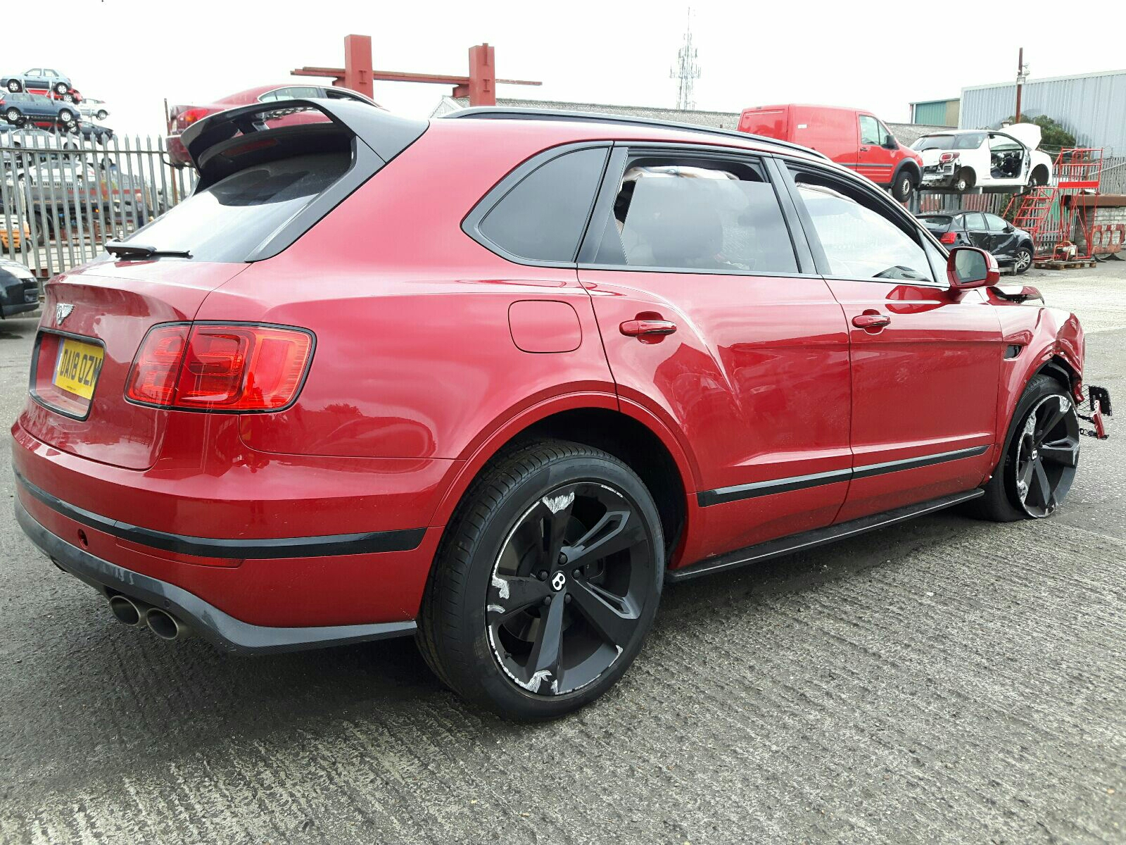 Bentley Bentayga W12 Auto - OSR