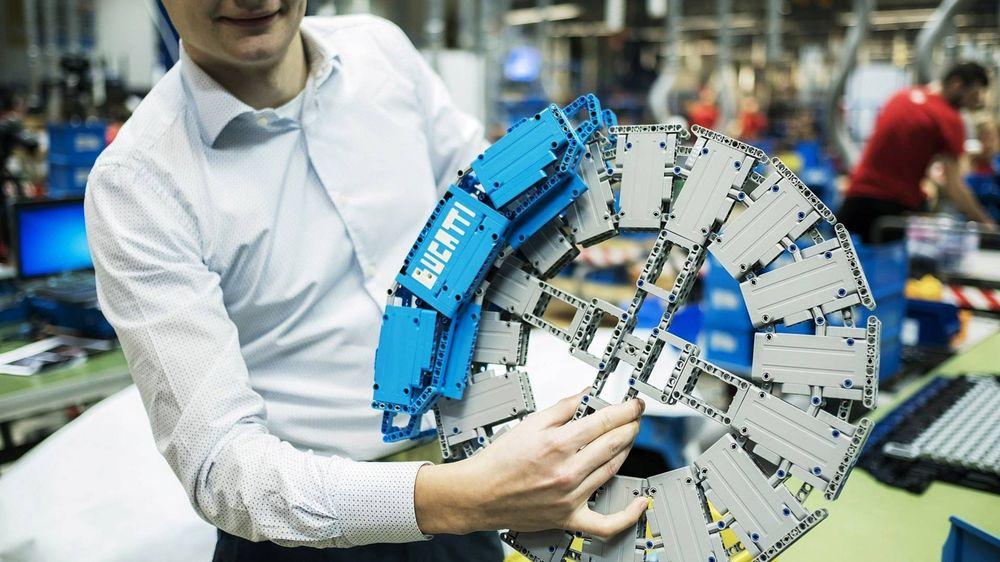 Bugatti Chiron Lego Technic Brakes