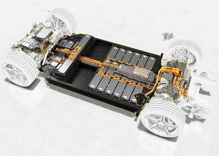 Porsche 800 Volt Battery
