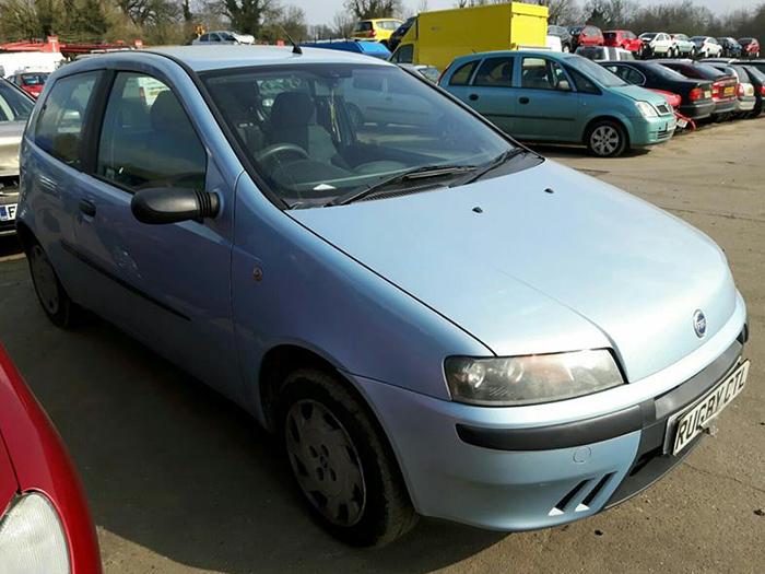 Fiat Punto Scrap Car