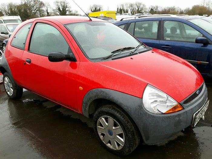 Ford KA Scrap Car